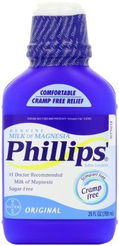 Le lait de magnésie d'origine 26 fl.oz Phillips