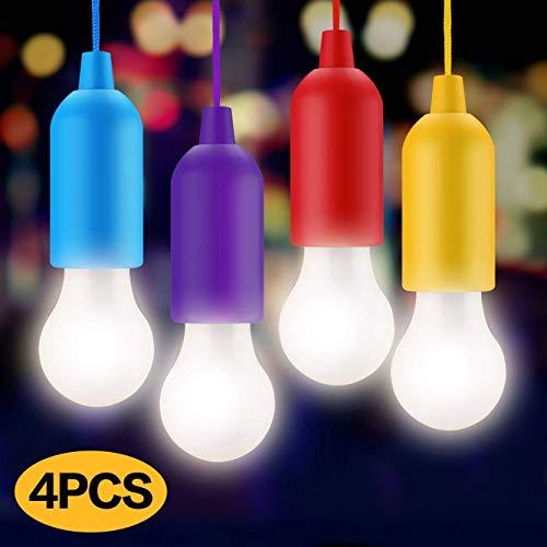 JUNKER Lampade led campeggioLampada LED da CampeggioLight Portatili Lampade Tenda LED LampadinaLuce DecorativaLuce da Emergenza per