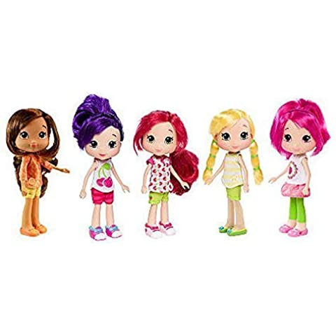 Strawberry Shortcake Berry Best Adventure Collection - 5 Doll Set by Strawberry Shortcake