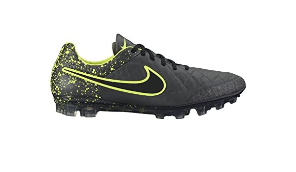 94cf5cfd35f33 Nike Men's Tiempo Legend V AG-R Football Boots, Yellow (Anthracite ...