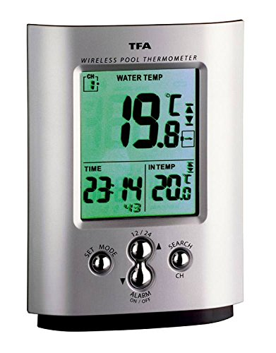 Funk-Poolthermometer Miami Wetterladen TFA 30.3033.99 Schwimmbadthermometer