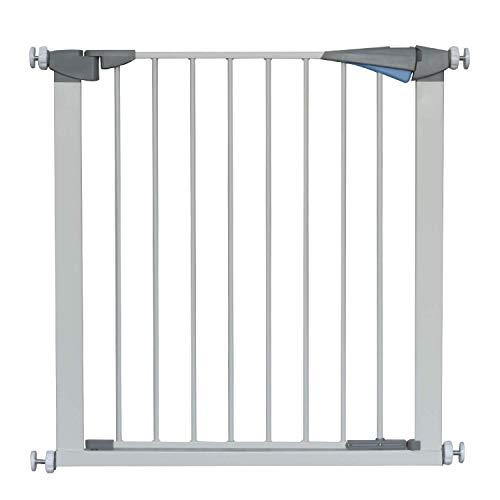 LEMKA Türschutzgitter für Kinder, für Hunde und Katzen, Befestigung ohne Bohren, Treppen,zum...
