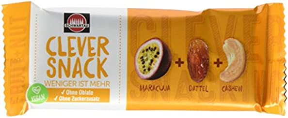 Clever Snack Maracuja - Dattel - Cashew, 15er Pack (15 x 35 g)