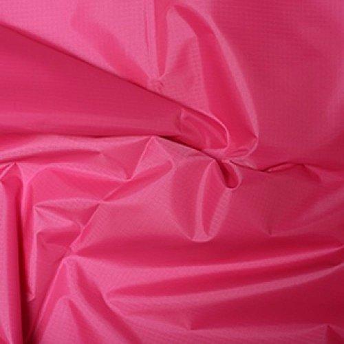 Navy Blue Jacke Hot (Hot Pink Gewebe der gefärbt Polyester Rip Stop reißfest wasserdicht 150cms breit-Meterware)