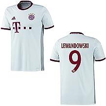 adidas FC BAYERN MÜNCHEN Trikot 3rd Kinder 2016 / 2017 - LEWANDOWSKI 9