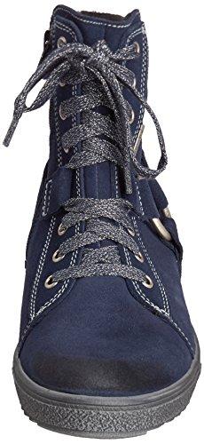 Richter Kinderschuhe Sonia Mädchen Hohe Sneakers Blau (atlantic  7200)