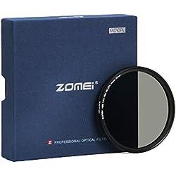 ZOMEi 67mm CPL Filtre Verre Multicouche Polarisant Circulaire Verre Filtre Polarisé Anti-Poussière Anti-Rayures Imperméable pour Canon Nikon Tous DSLR de caméra + Chiffon de Nettoyage en Microfibre
