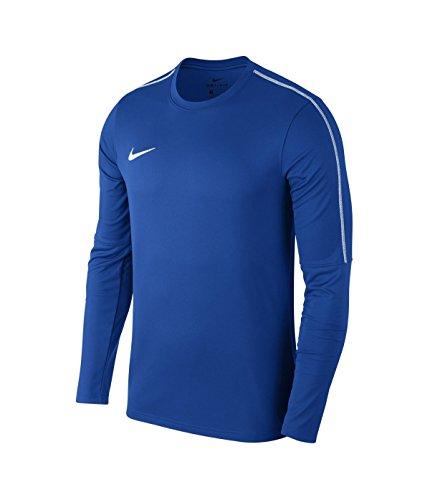 Nike Herren Dry Park 18 Langarmshirt, Blau (Royal Blue/White), L Blau-herren-parka