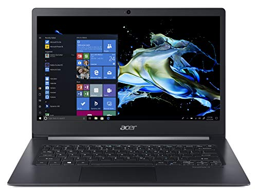 "Acer TravelMate X5 TMX514-51T-55R4 Notebook con Processore Intel Core i5-8265U, Ram 8GB DDR4, 256GB PCIe NVMe SSD, Display 14"" FHD IPS Multi-touch LCD, Windows 10 Professional, Nero"