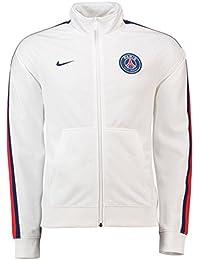 Nike Paris Saint Germain Chaqueta, Hombre, White/Loyal Blue, Small