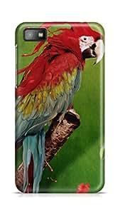 PCM High Quality Printed Designer Polycarbonate Hard Back Cover for Blackberry Z10 - Matte Finish - Color Warranty - 1564