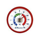 Thermometerwelt Thermometerset 3 Stück Kühlschrankthermometer . Kunststoff in Deutschland Farben schwarz , rot , gelb 4955 - 3
