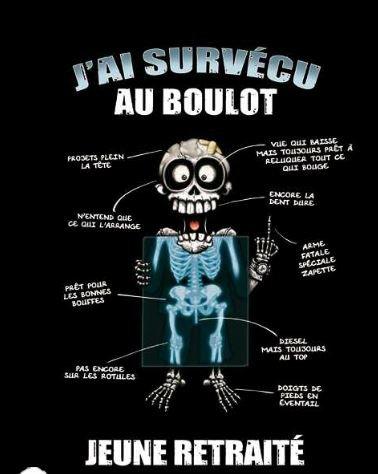 Tee-Shirt-Coton-Serigraphi-Jai-Survcu-au-Boulot-Jeune-Retrait-Taille-Xlarge