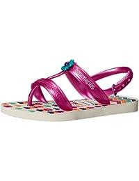 af23eb696fec7 Havaianas Kids Joy Spring Sandal White Flip Flop with Backstrap  (Toddler Little Kid)