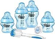 Tommee Tippee Closer To Nature Newborn Bottle Starter Set - Blue (Assorted Model), 42356751