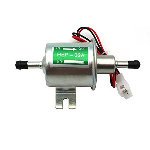 raogoodcx® Universal de 12V Bomba de combustible eléctrica de baja presión para...