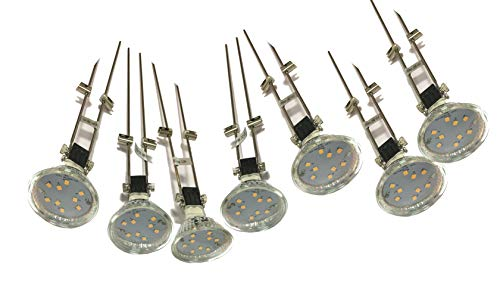 LED-Seilsystem-Strahler-Spotleuche-Schienensystem LED-Decken-Wand-Schaufenster-Bad-Fenster-Schrank-Leuchte-Strahler-Spot Spotlight (7 x 3Watt)