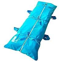 XDXDO Bolsa desechable Impermeable a Prueba de Fugas Cadáver Abrigo del Cuerpo Bolsa Sábana, Bolso Cuerpo Combinado con Asas Laterales para el Hospital funeraria