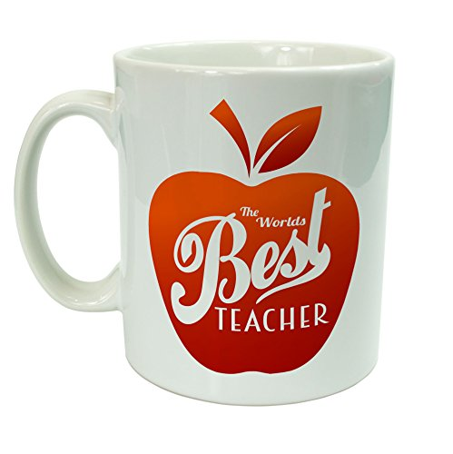 The Worlds Best Teacher Cereamic tazza insegnanti...