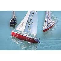 Jamara 040250 - Velero Atlantique 27Mhz 2CH RTR -  2 Motores, Peso del plomo para la estabilización, apto para piscina o lago