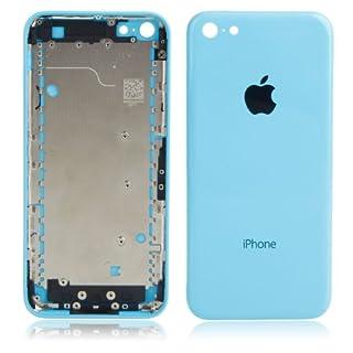 AcGoSp Original Rückenabdeckung, buntes Montage mit LOGO, für iPhone 5C, Hellblau