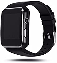 Choomantar Shop Premium qualityX6 Bluetooth Smart Watch for All 2G, 3G,4G Phones, X6 Wrist Phone with Camera a
