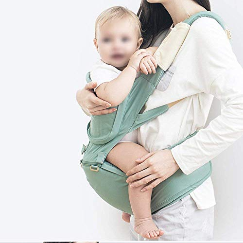 Udxvsdfhd Baby Carrier Baby Carrier Multifunctional Baby Carrier Removable Baby Carrier (Color : Green) Back Carrier  udxvsdfhd