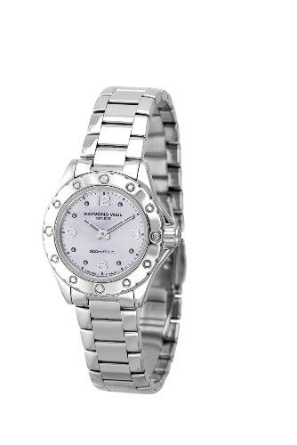 Raymond Weil 3170-ST-05915 - Reloj analógico de cuarzo para mujer con correa de acero inoxidable, color plateado