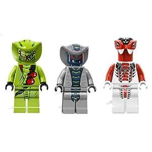 LEGO Ninjago - Rattla Lasha and Fang Suei - Serpentine Army [Toy] 0608819465975 LEGO