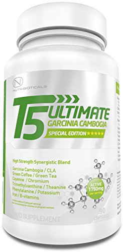1-STRONGEST-Fat-Burner-on-Amazon-T5-Ultimate-Raspberry-Ketones-Edition-1750mg-ACTIVE-per-serving-Advanced-Formula-with-Green-Coffee-Green-Tea-CLA-Cayenne-Theanine-Chromium-Iron-and-more-Premium-Thermo