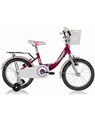 "Kinderfahrrad 16"" Leader Princess (2015) Pink"