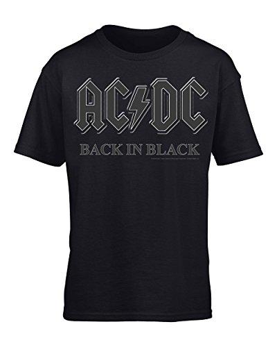 AC/DC, Back in Black-Maglietta da uomo Nero  nero