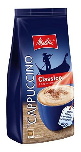 Melitta Cappuccino, Löslicher Kaffee, Feine Kaffeenote, Cremig, Classico Cappuccino, 6 x 400 g Beutel