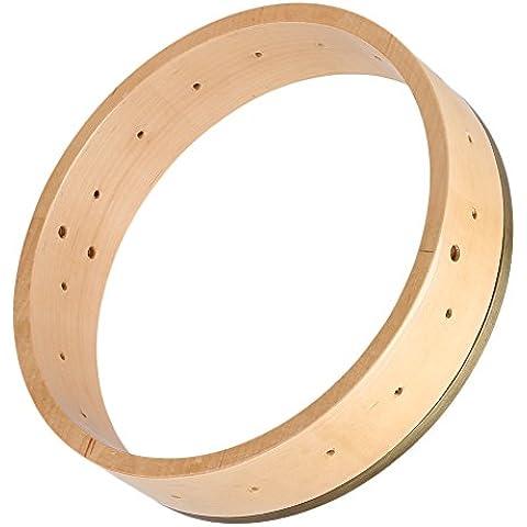 yibuy 11Inch acero Banjo bordo per Banjo parti accessori Liutaio Maker fai da te legno color