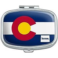 Colorado CO Home State Flagge Offizielles Lizenzprodukt Rechteck Pille Fall Schmuckkästchen Geschenk-Box preisvergleich bei billige-tabletten.eu