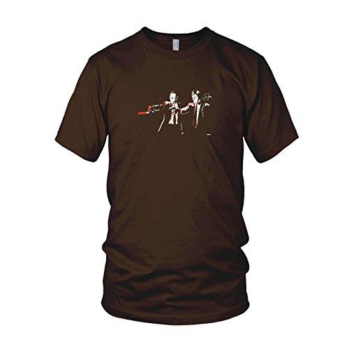 Dixon Fiction - Herren T-Shirt Braun
