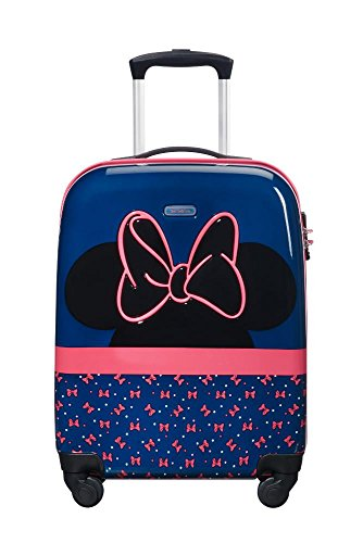 SAMSONITE Disney Ultimate 2.0 - Spinner 55/20 2.6 KG Valigia per bambini, 54 cm, 33 liters, Multicolore (Minnie Neon)