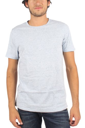 Hurley - - Herren Staple Nubby T-Shirt Heather Pacific Blue