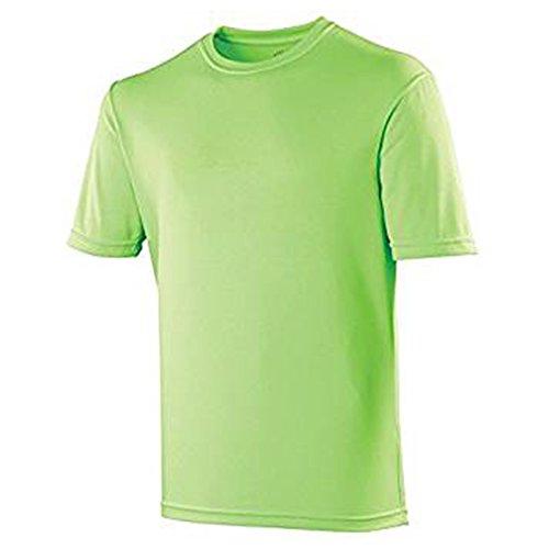 AWDis Cool Damen Modern T-Shirt Gr. 35-37, Electric Green (Ringer Green T-shirt Go)
