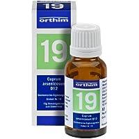 Schuessler Globuli Nr. 19 - Cuprum arsenicosum D12 - gluten- und laktosefrei preisvergleich bei billige-tabletten.eu