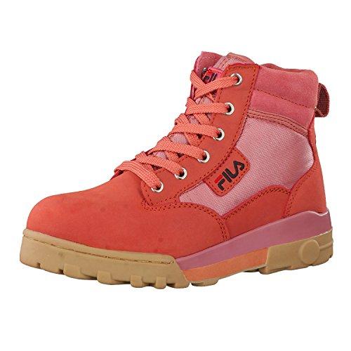 Fila Damen Grunge Mid Wmn Sneakers, Pink (Canyon Rose), 37.5 EU (Sportschuhe Fila)