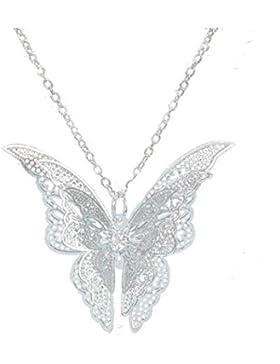 Sunnywill Frauen schöne Schmetterling Anhänger Kette Halskette Schmuck für Damen Mädchen