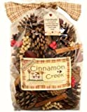 Christmas pack of Cinnamon Creek Large Cones And Pods Scented Bag 500g