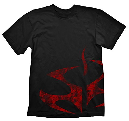 HITMAN Agency Symbol Vintage, T-Shirt Uomo, Nero (Black), Medium