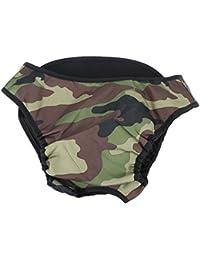Gowind6 - Pantalón de Perro Grande para pañales Sanitarios, Pantalones fisiológicos Lavables, Ropa Interior para Perro