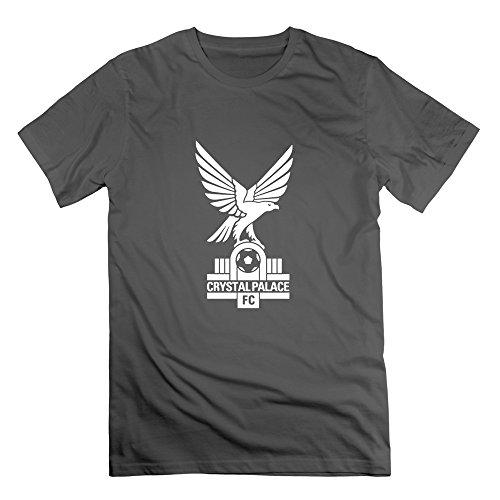 Herren's Crystal Palace Fc Cotton Tee Shirts XX-Large