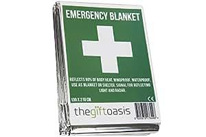 Multi Purpose Heat Survival Foil Blanket Baby Sensory (Single)