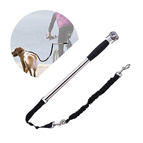 Decdeal Fahrrad Hunde Leine Fahrradhalter für den Hund