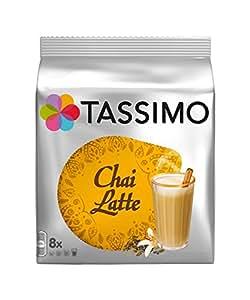 Tassimo Chai Latte 8 T-Discs, 8 Servings