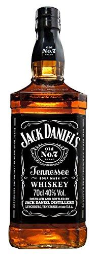 Jack Daniel's Old No.7 Tennessee Whiskey - 40% Vol. (1 x 0.7 l) / Durch Holzkohle gefiltert. Tropfen für Tropfen